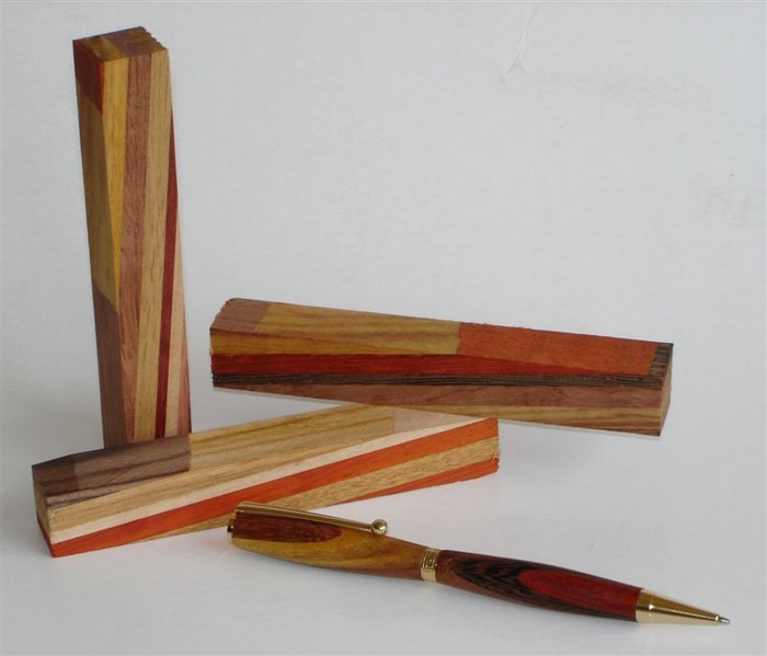 Getting Started Turning Wooden Pen Blanks