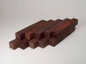 East Indian Rosewood Pen Blanks